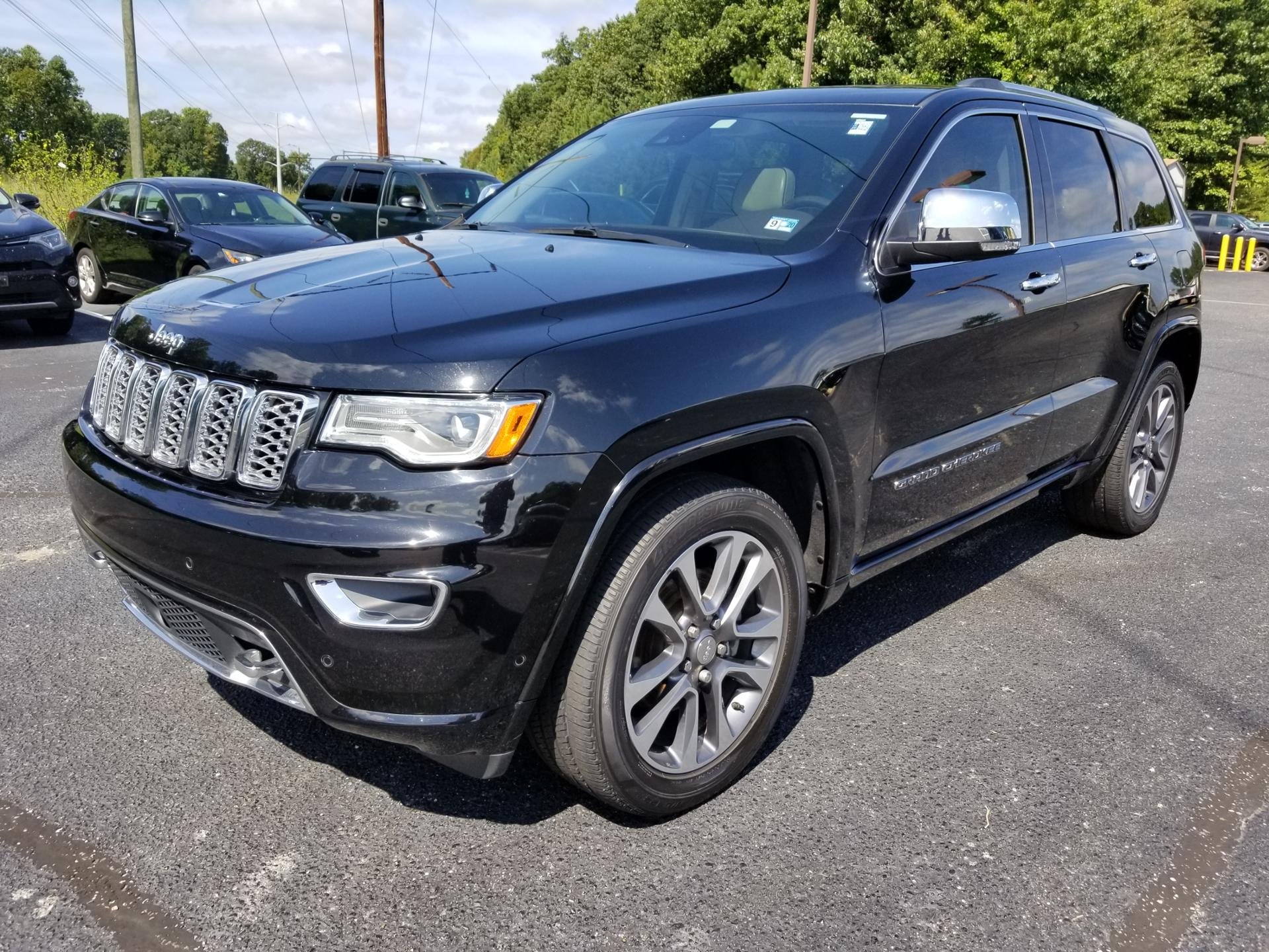 Jeep Grand Cherokee Overland >> Certified Pre Owned 2017 Jeep Grand Cherokee Overland Rwd Ut
