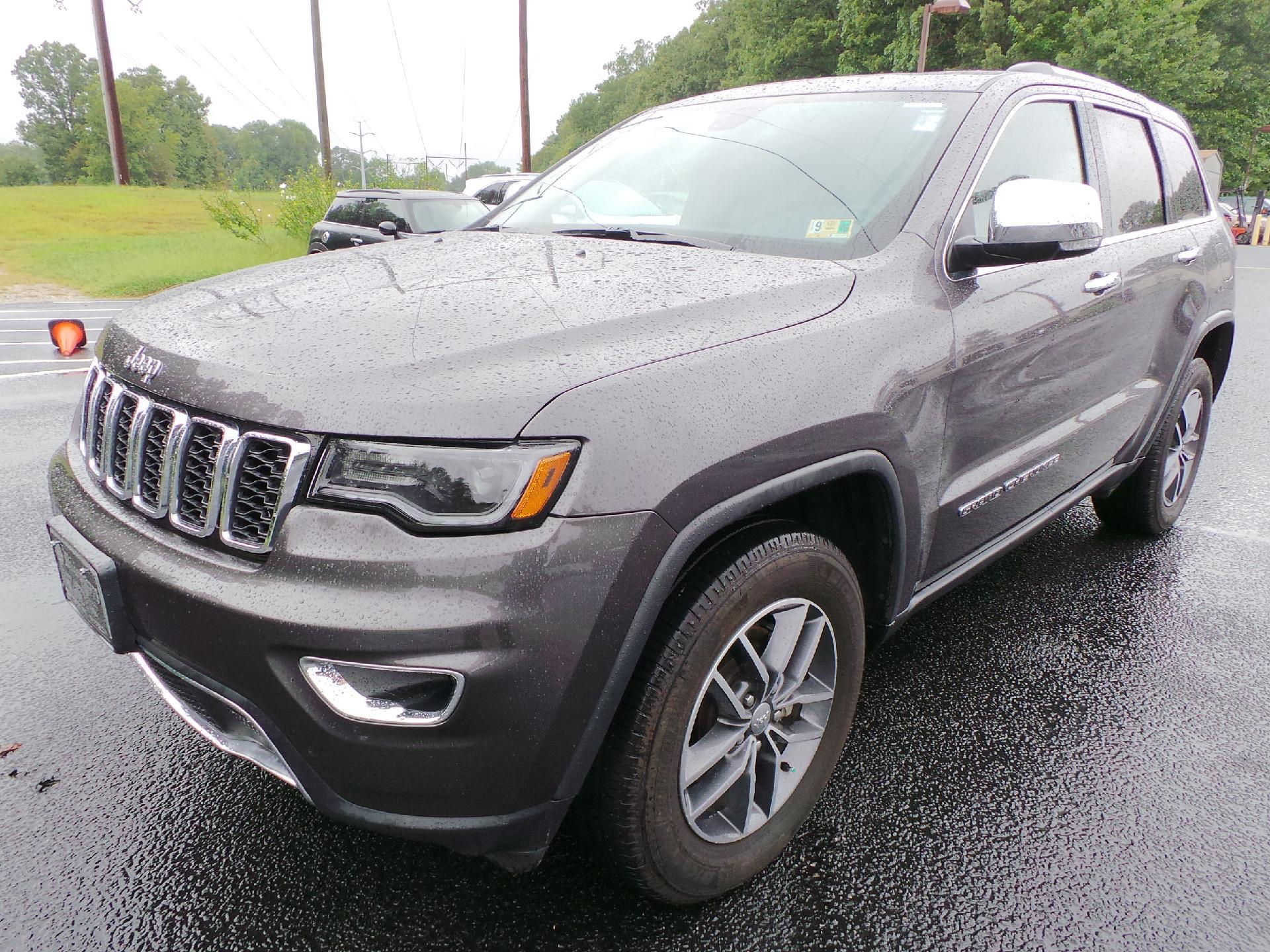 Superb Pre Owned 2018 Jeep Grand Cherokee LIMI