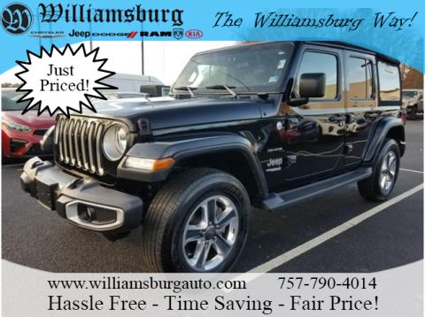 Certified Pre-Owned 2018 Jeep Wrangler Unlimited SAHA