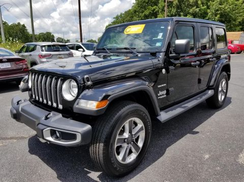 Certified Pre-Owned 2019 Jeep Wrangler Unlimited SAHA