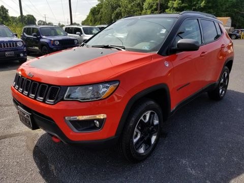 Certified Pre-Owned 2017 Jeep Compass Trailhawk